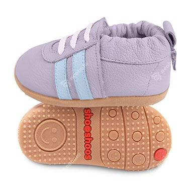 Shooshoos Grey Sports Sky Stripes